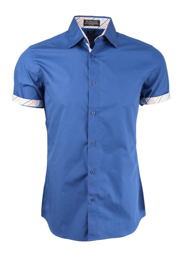 Trimmed Short Sleeve Shirt