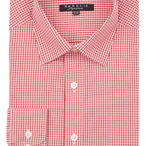 Checkered Slim Fit Dress Shirt