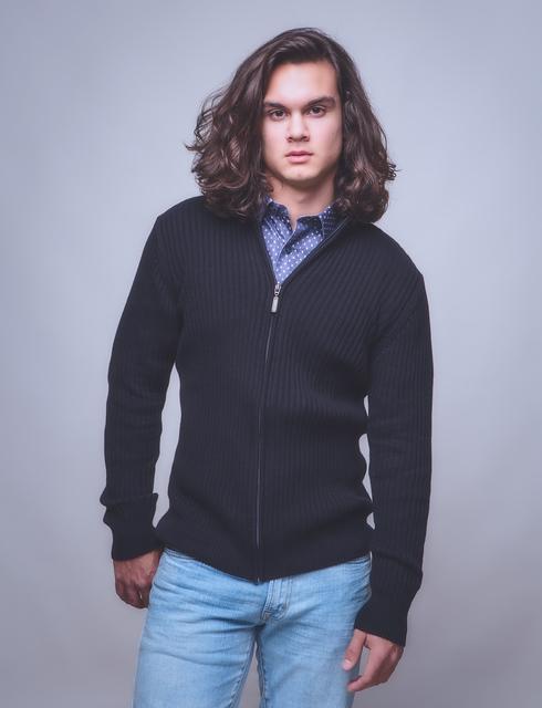 Fleece Zipped Front Cardigan