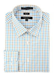 Tattersall slim fit shirt