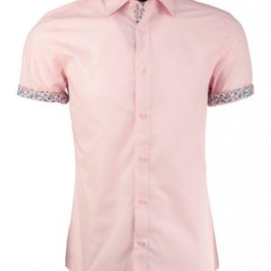 Trimmed Short Sleeve