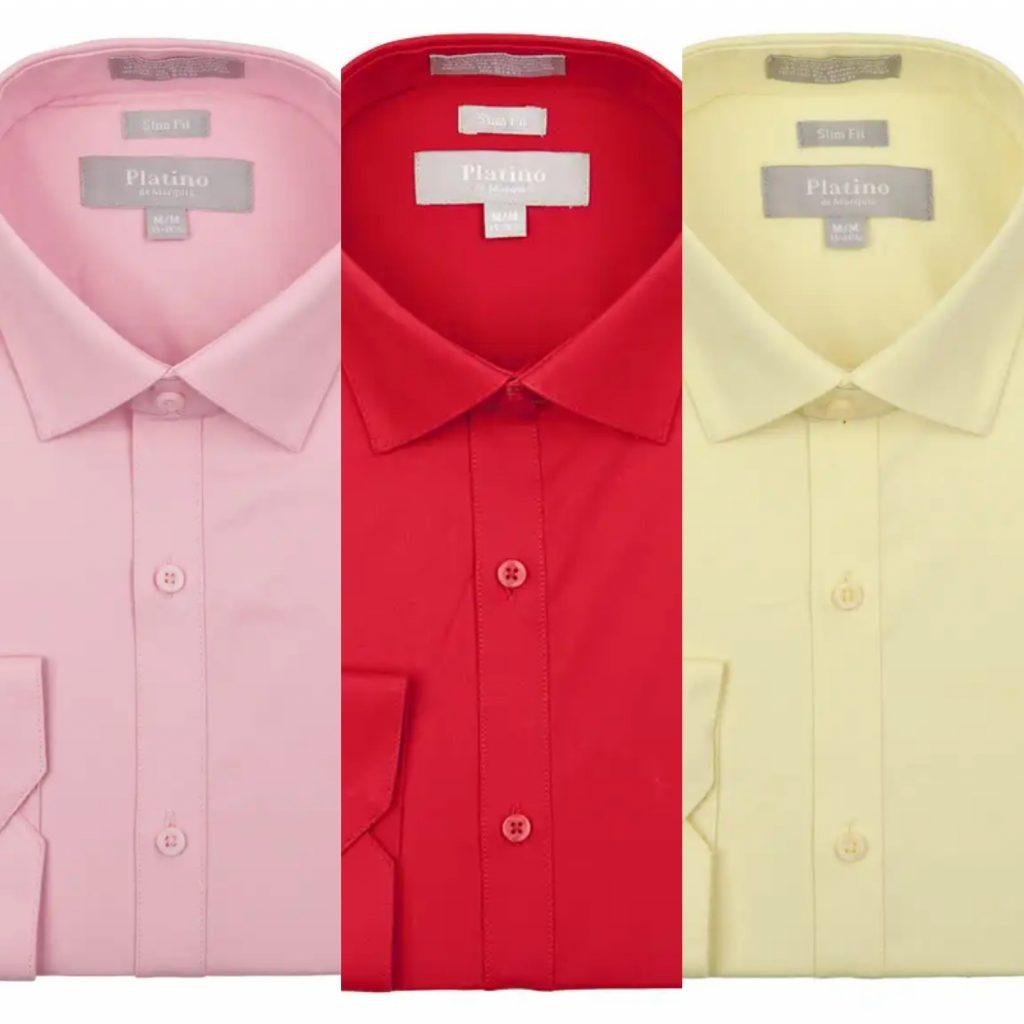 Spandex Dress Shirt
