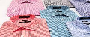 Checkered Slim Fit Dress Shirt